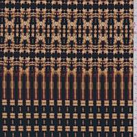Amber Gold/Black Jersey Knit