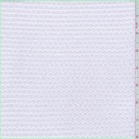 White Athletic Jersey Knit