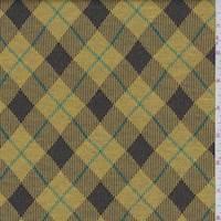 Goldenrod Argyle Double Knit
