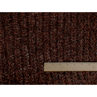 *3 1/2 YD PC--Rust Brown Wool Blend Boucle Sweater Knit
