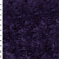 *3/4 YD PC--Eggplant Purple Vintage Silk Velvet Home Decorating Fabric