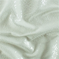 *3 YD PC--Off-White Sequin Voile