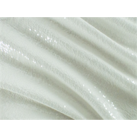 *3/4 YD PC--Off-White Sequin Voile