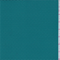 *1 3/8 YD PC--Teal Green Chain Link Activewear