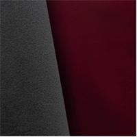 *4 YD PC--Soft Shell Fleece - Wine Red/Gray