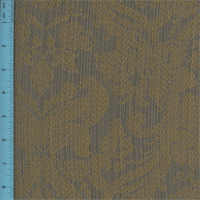 *1 YD PC--Jacquard Shadae Bronze/Gray Home Decorating Fabric