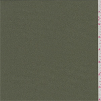 *6 YD PC--Olive Green Polyester Crepe