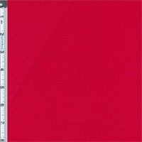 *1 YD PC--Red Baby French Terry Jersey Knit