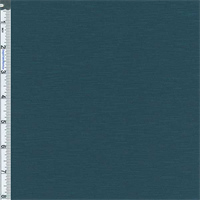 *1 YD PC--Teal Blue Slub Jersey Knit