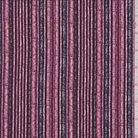 Mulberry Multi Dotted Stripe Jersey Knit