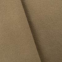 Hazelnut Beige Fulled Wool/Alpaca Blend Coating