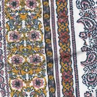 *5 5/8 YD PC--Print Rayon Knit