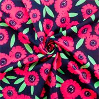 Pink/Multi Floral Print Tricot