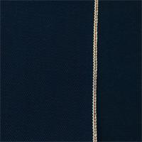 *1 3/4 YD PC--Indigo Blue Cotton Selvedge Denim