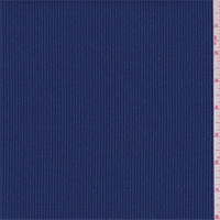 *1 3/4 YD PC--Jewel Blue/Silver Stripe Twill