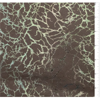 *2 1/2 YD PC--Mocha Brown Marble Print Ultrasuede