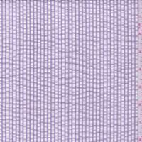 *1 3/8 YD PC--Lavender Stripe Cotton Seersucker