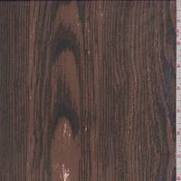 Mochiato Woodgrain Silk Chiffon