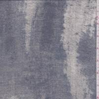 Slate/Nickel Mottled Silk Chiffon