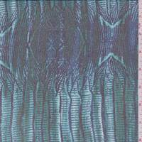 Evergreen Seismic Silk Chiffon