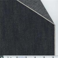 *1 1/8 YD PC--Dark Navy Blue Selvedge Denim