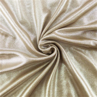 *1 YD PC--Beige Shimmer Interlock Lame