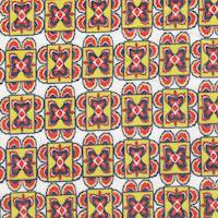 *3 1/2 YD PC--Block Print Cotton Lawn