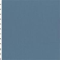 *1 1/8 YD PC--Sky Blue Wool Blend Napped Gabardine