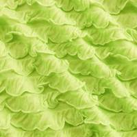 Lime Green Ruffle Knit