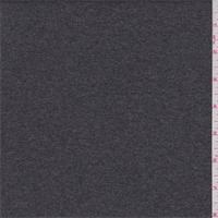 *2 1/8 YD PC--Charcoal Grey Rib Knit