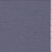 *2 3/4 YD PC--Grey/Charcoal Mini Check Suiting
