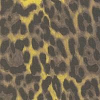 *5 1/4 YD PC--Leopard Silk Crepe Chiffon