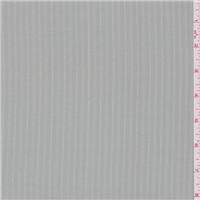 *2 5/8 YD PC--Sterling Grey Satin Stripe