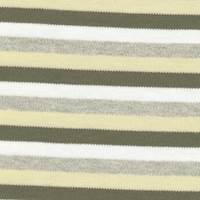 *3 YD PC--Striped Cotton Knit