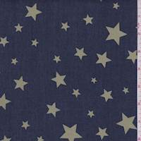Navy/Golden Lime Star Denim