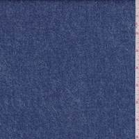 Ink Blue Denim Print Scuba Knit
