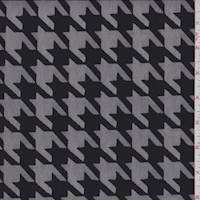 Black Houndstooth Mesh