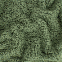 *4 3/4 YD PC--Sage Green Sherpa Fleece