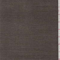 *1 YD PC--Timber Brown Corded Wool Jacketing