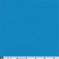*2 3/4 YD PC--Cyan Rib Jersey Knit