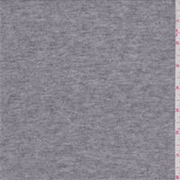 *2 7/8 YD PC--Heather Grey Jersey Sweater Knit
