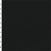 *4 YD PC--Black Wool Gabardine