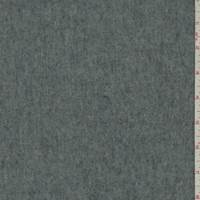 *6 YD PC--Grey Wool Brushed Jacketing