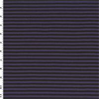 *2 7/8 YD PC--Purple/Black Wool/Acrylic Ponte Knit