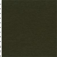 *1 1/8 YD PC--Army Green Wool Ponte Knit