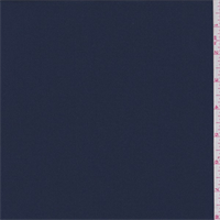 *1 5/8 YD PC--Dark Blue Polyester Double Georgette