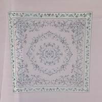 *3 PANELS--Lavender Floral Panels