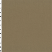 *2 1/2 YD PC--Toffee Beige Wool Gabardine