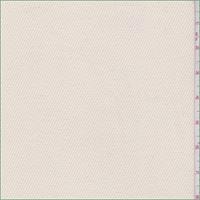 *6 YD PC--Cream Cotton Twill Jacketing