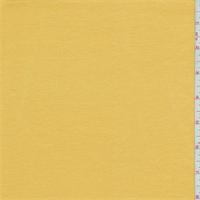 *1 7/8 YD PC--Yellow Gold Rayon Jersey Knit